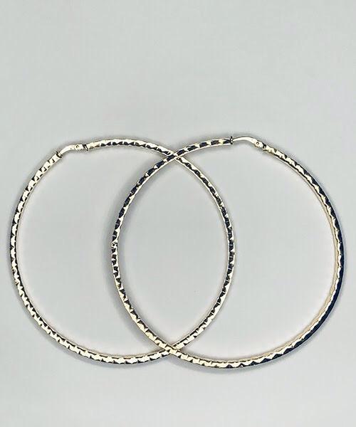 Orecchini ad anella in oro giallo 18 kt