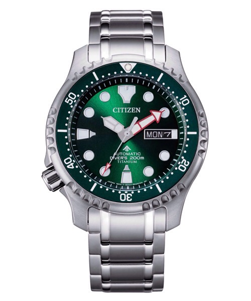 Orologio CITIZEN DIVER'S AUTOMATIC 200 MT SUPER TITANIO